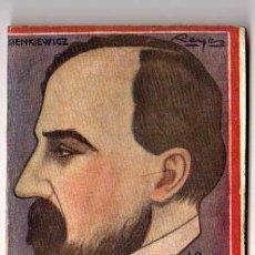 Libros antiguos: EL FOLLETIN. QUO VADIS POR ENRIQUE SIENKIEWICZ. 1923. Lote 18195229