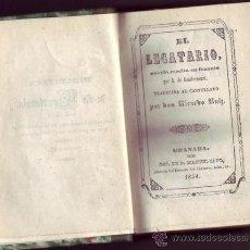 Libros antiguos: EL LEGATARIO. A. DE GONDRECOURT. NOVELA TRADUCIDA AL CASTELLANO POR D. RICARDO RUIZ. . Lote 26652460