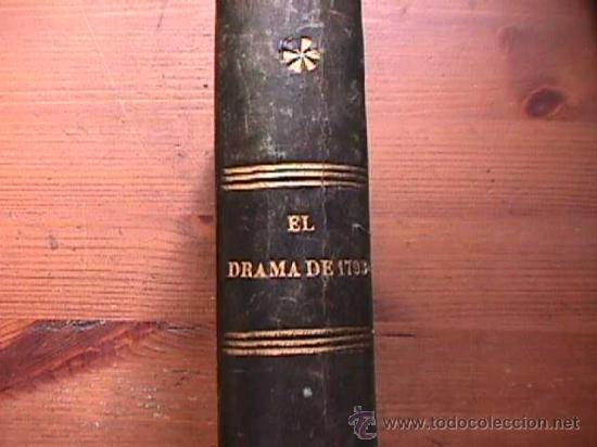 EL DRAMA DE 1793, ALEJANDRO DUMAS, FERNANDO GASPAR EDITOR, 1856 (Libros antiguos (hasta 1936), raros y curiosos - Literatura - Narrativa - Novela Histórica)