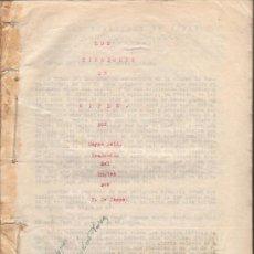 Libros antiguos: LOS TIRADORES DE RIFLE. MAYNE REID, LEGAJO ORIGINAL TRADUCTOR: F. CASAS 1924. 267X209 MM. 155 P.. Lote 27396241