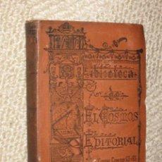 Libros antiguos: EL CAPITÁN SIN FATIGA DE PAUL MAHALIN, SÓLO TOMO SEGUNDO. BIBLIOTECA DE EL COSMOS EDITORIAL. Lote 26517718