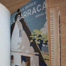 Libros antiguos: LA BARRACA. NOVELA. BLASCO IBÁÑEZ (VICENTE). Lote 21779829