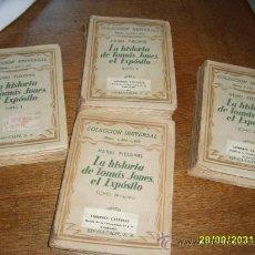 Libros antiguos: LA HISTORIA DE TOMÁS JONES EL EXPÓSITO 4 TOMOS-1933-. Lote 27387516