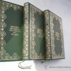 Libros antiguos: 3 LIBROS GRANDES HISTORIAS DEL PASADO. Lote 139511205