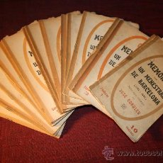 Libros antiguos: 0190- MEMORIAS DE UN MENESTRAL DE BARCELONA 1792-1854, ASMARATS,BARCELONA, 1916, POR LOSÉ COROLEU. Lote 24632098