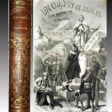 Alte Bücher - 1857 - CORPUS DE SANGRE - Los fueros de Cataluña - 20 Laminas - 24895958