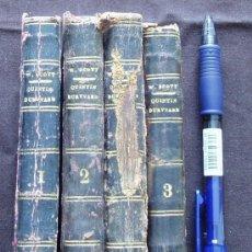Libros antiguos: BARCELONA 1834 * 4 VOLUMENES * QUINTIN DURWARD EL ESCOCÉS EN LA CORTE DE LUIS XI * WALTER SCOTT *. Lote 25066077