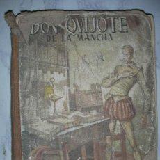 Libros antiguos: ANTIGUO DON QUIJOTE DE LA MANCHA DE HIJOS DE SANTIAGO RODRIGUEZ. Lote 30705110