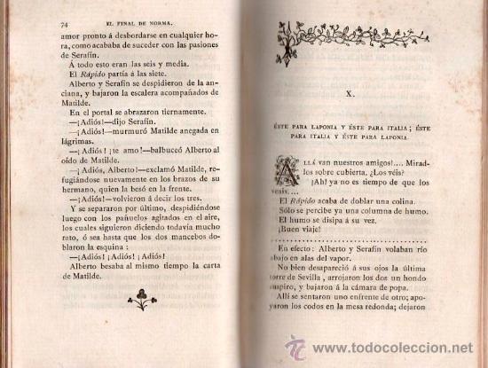 Libros antiguos: EL FINAL DE NORMA POR PEDRO ANTONIO DE ALARCON AÑO 1883 - Foto 3 - 25402617