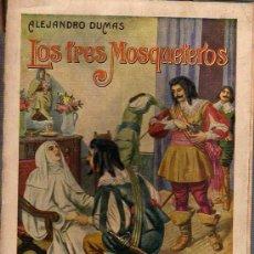 Libros antiguos: BUEN LIBRO DE ALEJANDRO DUMAS LOS 3 MOSQUETEROS VERSION ESPAÑOLA 1935 COL,GRANDES NOVELAS. Lote 25786858