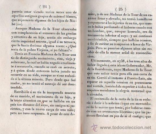Libros antiguos: PABLO Y VIRGINIA BARCELONA 1838 - Foto 4 - 25807320
