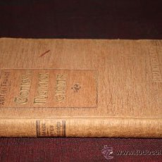 Libros antiguos: 0351- CONTES I NARRACIONS, DOMENECH,BARCELONA,1907, BIBLIOTECA EL POBLE CATALÀ, ANATOLI FRANCE. Lote 25921098