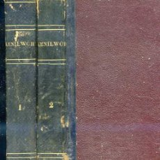 Libros antiguos: WALTER SCOTT : KENILWORTH (1832) 4 TOMOS EN DOS VOLÚMENES - 1ª EDICIÓN ESPAÑOLA. Lote 26048134