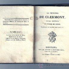 Old books - LA PRINCESA DE CLERMONT- 1833 - 26281295