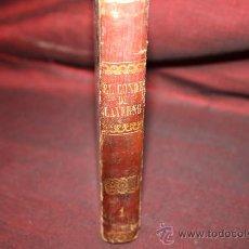 Libros antiguos: 0451- 'EL CONDE DE LAVERIE', TOMO 1. AGUSTO MAQUET. AÑO 1853. J.R-01. Lote 26500942