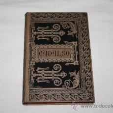 Libros antiguos: 1488- 'OBRAS ESCOGIDAS' DE D. JOSÉ CADALSO, CON UNA ADV. PRELIMINAR. BILIOTECA CLÁSICA ESPAÑOLA 1885. Lote 27303323