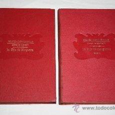 Libros antiguos: 1557- 'LA HIJA DE MARGARITA' AUTOR: AVIER MONTEPIN. 2 TOMOS COMPLETA. EDITOR RAMON SOPENA. Lote 27348101