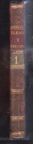 Libros antiguos: 1819.Valencia,Elena Virginia,Historia de una joven Rusa,novela en pasta española,b estado - Foto 2 - 27825854