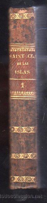 Libros antiguos: 1828,Los Desterrados a la isla de Barra,novela Histórica,3 tomos,pasta española,b estado - Foto 3 - 27825777
