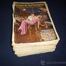Libros antiguos: GONZALO DE SAN FERNANDO, EL PIRATA REY DE LOS MARES, DE ADOLFO DE MADRID (1933-1936). Lote 28468322