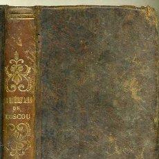 Libros antiguos: MME. VOILLEZ : LA HUÉRFANA DE MOSCOU (1850). Lote 30291727