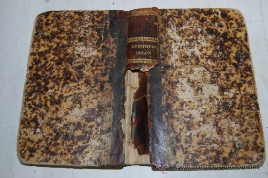 CRISTÓBAL COLÓN. DESCUBRIMIENTO DE LAS AMÉRICAS. TOMO IV. M. ALFONSO DE LAMARTINE RM56973 (Libros antiguos (hasta 1936), raros y curiosos - Literatura - Narrativa - Novela Histórica)