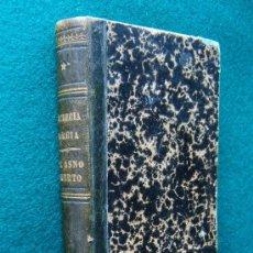 Libros antiguos: LUCRECIA BORGIA-VICTOR HUGO Y EL ASNO MUERTO-JULIO JANIN-2 OBRAS UN TOMO-AMBAS 1890-MUY RARISIMAS.. Lote 31087146