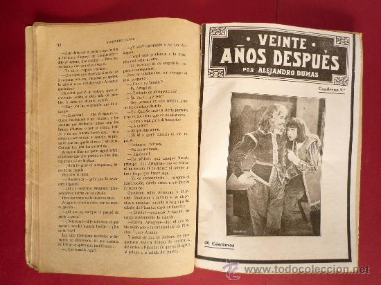 Libros antiguos: ALEJANDRO DUMAS. VEINTE AÑOS DESPUES - Foto 5 - 31850343