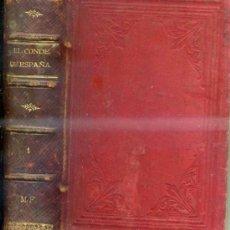 Libros antiguos: ÁLVARO CARRILLO : EL CONDE DE ESPAÑA -LA INQUISICIÓN MILITAR TOMO I ( C.1890). Lote 31879127