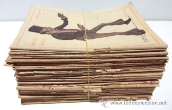 40 NUMEROS DE NOVELA CORTA 1916 + 2 NUMEROS DE NOVELA COMICA (Libros antiguos (hasta 1936), raros y curiosos - Literatura - Narrativa - Novela Histórica)
