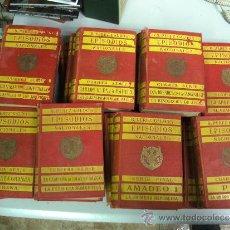 Libros antiguos: BENITO PEREZ GALDOS - EPISODIOS NACIONALES ¡ LOTE 21 LIBROS ! MADRID 1906-1921. Lote 33407481