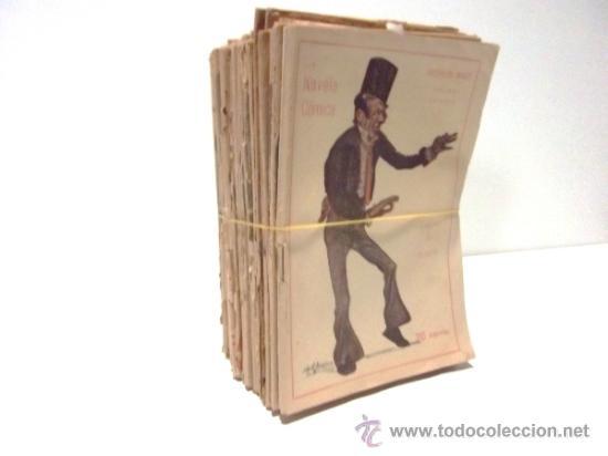 Libros antiguos: 40 NUMEROS DE NOVELA CORTA 1916 + 2 NUMEROS DE NOVELA COMICA - Foto 3 - 33397138