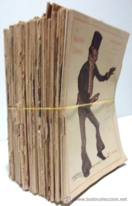Libros antiguos: 40 NUMEROS DE NOVELA CORTA 1916 + 2 NUMEROS DE NOVELA COMICA - Foto 2 - 33397138