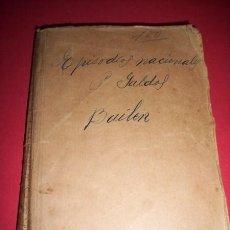 Libros antiguos: PÉREZ GALDÓS, BENITO - BAILÉN. Lote 33528884
