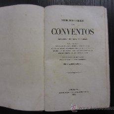 Libros antiguos: SECRETOS, INTRIGAS Y MISTERIOS DE LOS CONVENTOS, ALEJANDRO ROMAN. Lote 34236445
