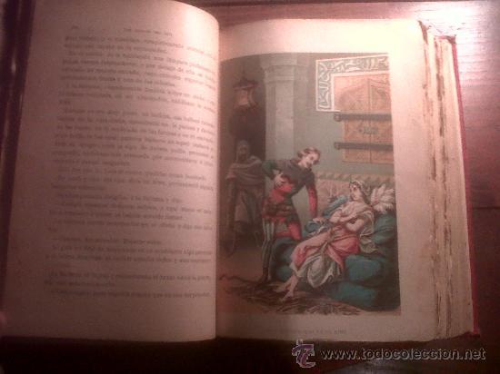 Libros antiguos: Los Amores Del Rey 2 tomos obra completa, de Elena Sainz, Barcelona S. XIX 1887 - Foto 5 - 34553928