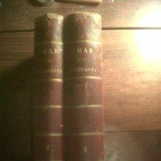 Libros antiguos: AMAR SIN ESPERANZA, 2 TOMOS COMPLETO, CON GRABADOS DE A. GIMENEZ Y GONZALEZ 1878. Lote 34554327