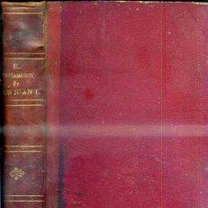 Libros antiguos: GABRIEL DE LOS ARCOS : EL TESTAMENTO DE DON JUAN I (LA MARAVILLA, 1864). Lote 34883038