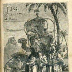 Libros antiguos: ANTONIO DE PADUA : JOSÉ Y LA MUJER DE PUTIFAR (ESPASA, 1869). Lote 34883170
