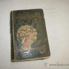Libros antiguos: LIBRO NOVELA MARIA, DE 1882, PRECIOSAS TAPADERAS. Lote 35404142