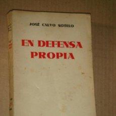 Libros antiguos: EN DEFENSA PROPIA. 1932. . Lote 35378356