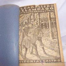 Libros antiguos: EL CABALLERO RELAMPAGO. Lote 35446239