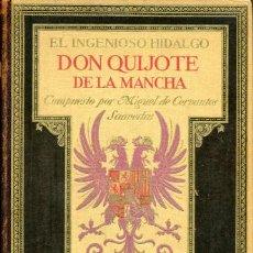 Libros antiguos: 1928: DON QUIJOTE DE LUJO - URRABIETA VIERGE. Lote 35485391