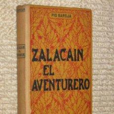 Libros antiguos: ZALACAÍN EL AVENTURERO, DE PIO BAROJA. CASA EDITORIAL MAUCCI, DOMENECH EDITOR. 2ª ED. ?. Lote 35962672
