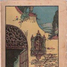 Libros antiguos: LIBRO - LA SANGRE DE ABEL - PRIMERA EDICION 1915 - SALVADOR GONZALEZ ANAYA - VER FOTO Y DESCRIPCION. Lote 36757173