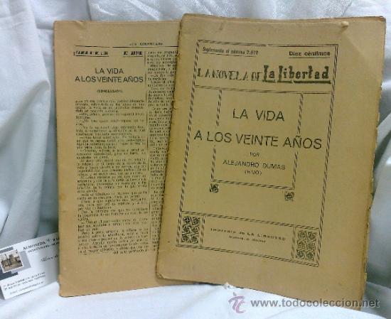 AÑO 1919-1939.- LA NOVELA DE LA LIBERTAD,SUPLEMENTOS DEL DIARIO -LA LIBERTAD- (Libros antiguos (hasta 1936), raros y curiosos - Literatura - Narrativa - Novela Histórica)