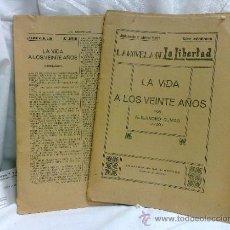 Libros antiguos: AÑO 1919-1939.- LA NOVELA DE LA LIBERTAD,SUPLEMENTOS DEL DIARIO -LA LIBERTAD-. Lote 36836905