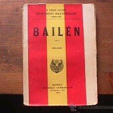 Libros antiguos: BAILEN, PEREZ GALDOS, SUCESORES DE HERNANDO, 1919. Lote 36842270