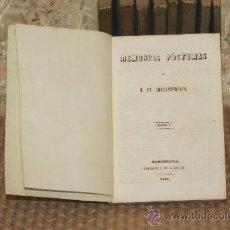 Libros antiguos: 3060- INTERESANTE SELECCION DE NOVELAS. IMP DE A. BRUSI. VARIOS TITULOS. 1848. VER DESCRIPCION.9 VOL. Lote 36981351