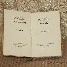 Libros antiguos: 3205- RIELS INHNE. P. JACOBSEN. EDIT. EUGEN DIEDERICHS. LEIPZIG. 1905.. Lote 37342549